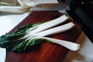 how to cook trinidad pak choi