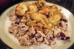 peas and rice recipe