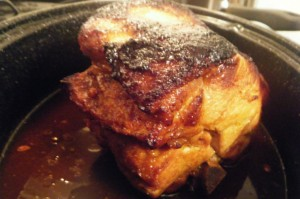 tangy pork roast recipe