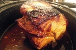 tangy pork roast recipe