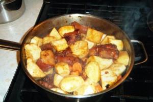trini pigtail soup