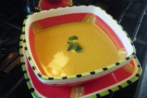 trinidad curry pumpkin soup