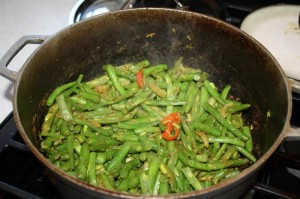 how to cook curry string beans 10