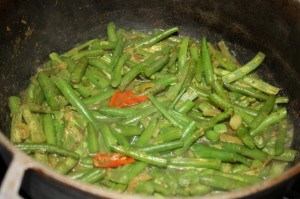 how to cook curry string beans 11