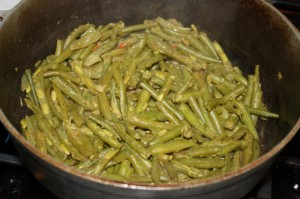 how to cook curry string beans 12
