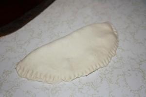 making trini aloo pie