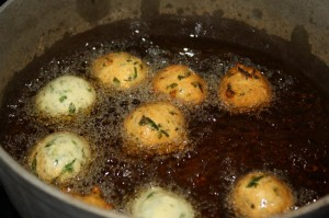 how to fry saheena