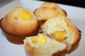 how to make mango muffin (12)