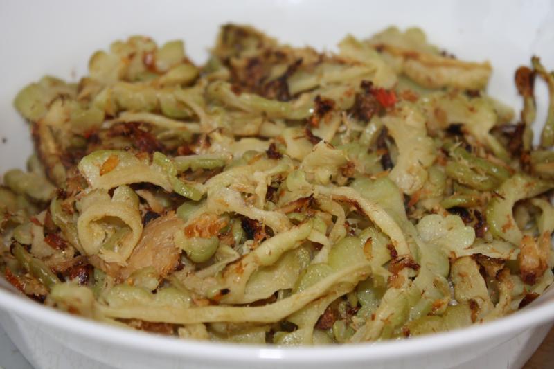 trinidad fry caraili recipe
