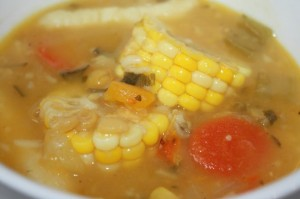 trini corn soup recipe (16)