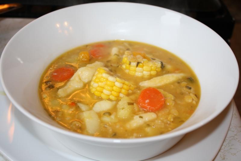 trini corn soup recipe (17)