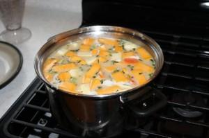 trini corn soup recipe (5)