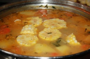 trini corn soup recipe (7)