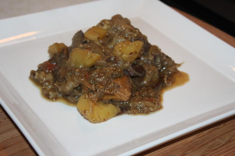 baigan and aloo recipe (11)