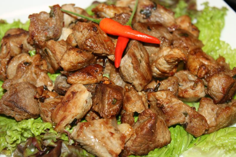 Enticing garlic pork at christmas caribbeanpot while its common in guyana forumfinder Images