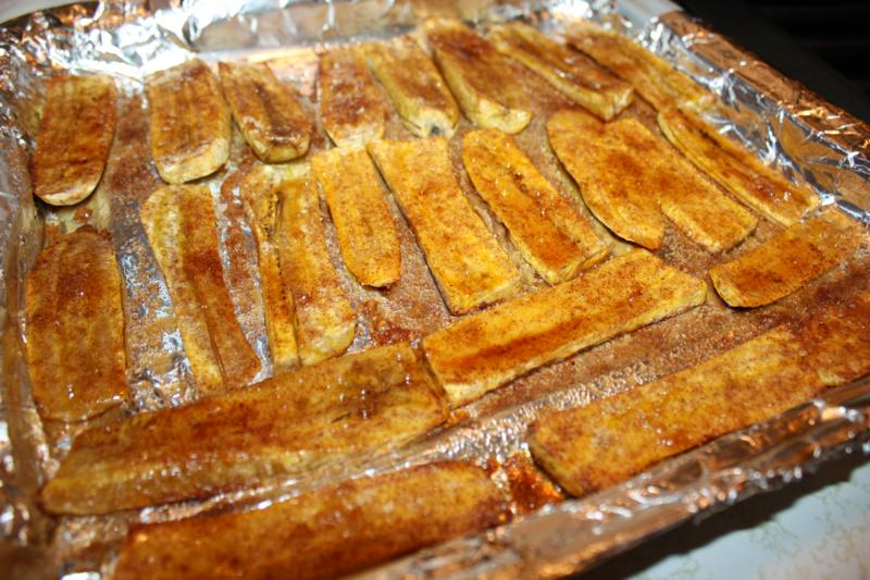 Cinnamon And Brown Sugar Plantains. | CaribbeanPot.com