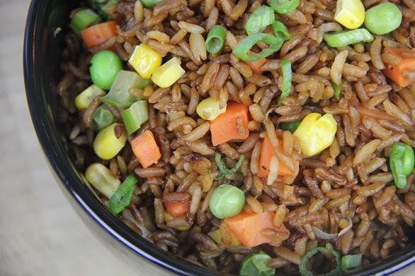 Scrumptious vegetable fried rice caribbeanpot how to make veg fried rice ccuart Images