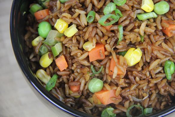 how to make veg fried rice