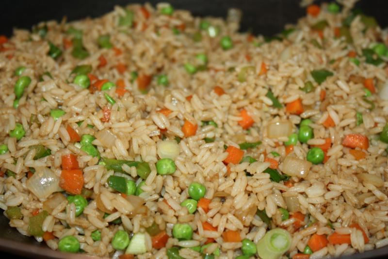 Scrumptious Vegetable Fried Rice. | CaribbeanPot.com