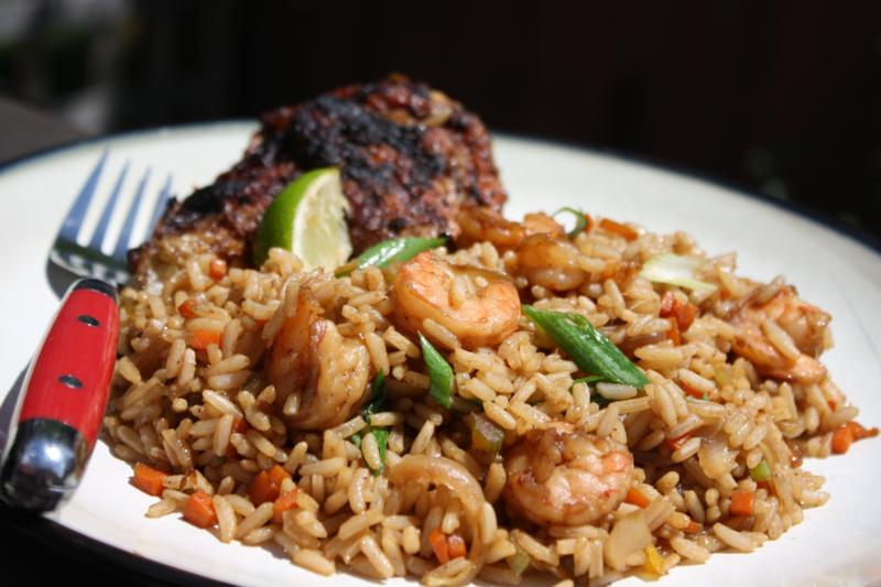 Shrimp fried rice caribbeanpot after forumfinder Images
