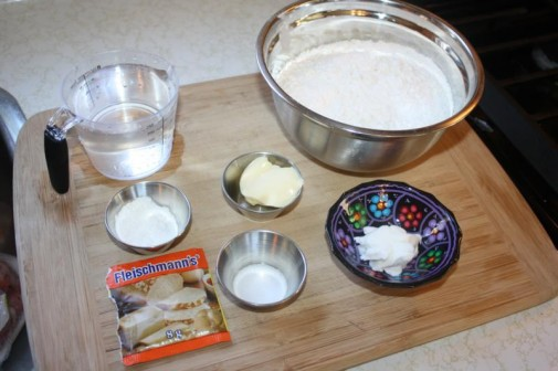 Shortening in cake recipe