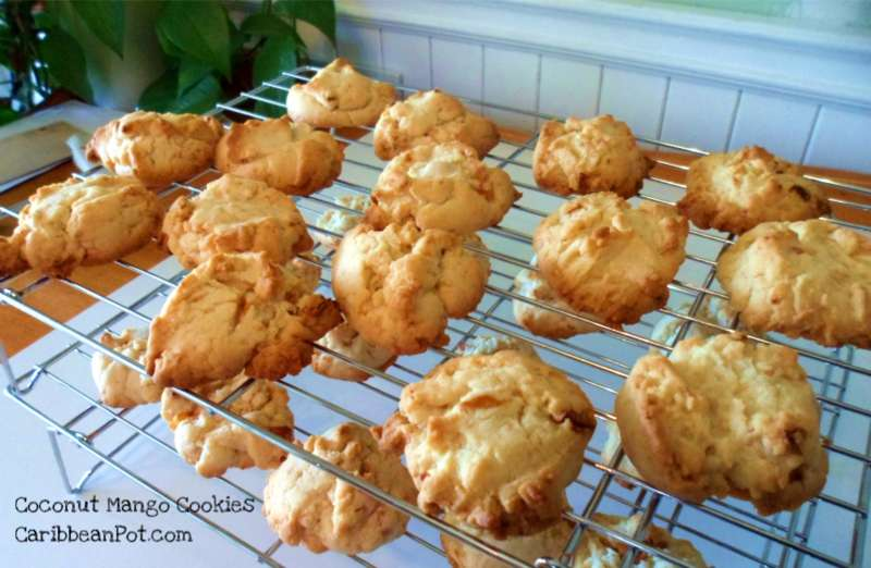 Caribbean coconut mango cookies recipe caribbeanpot if forumfinder Images