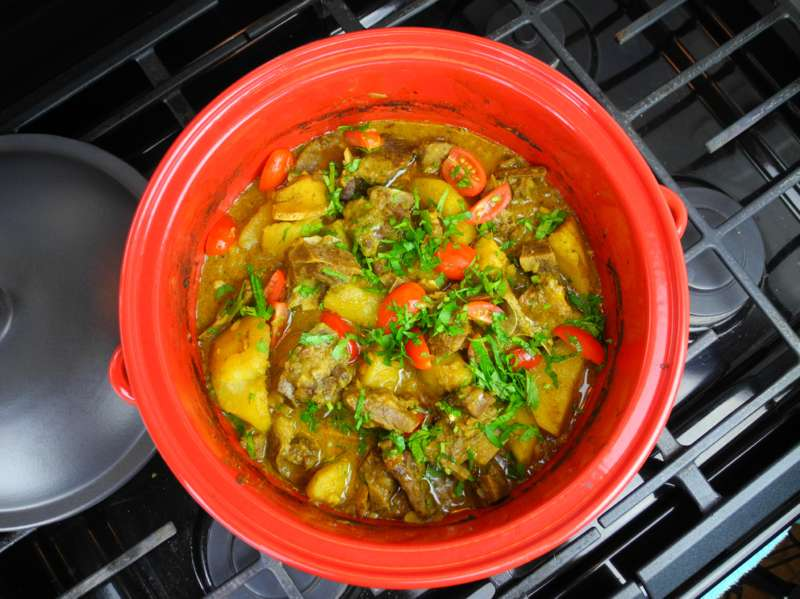 Caribbean Food Recipes Curry Goat
