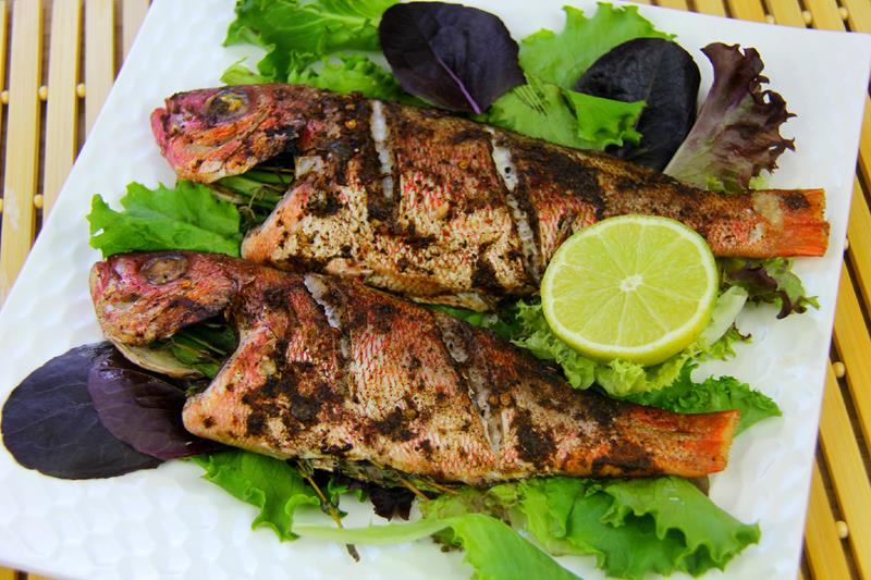 simple oven jerk fish recipe