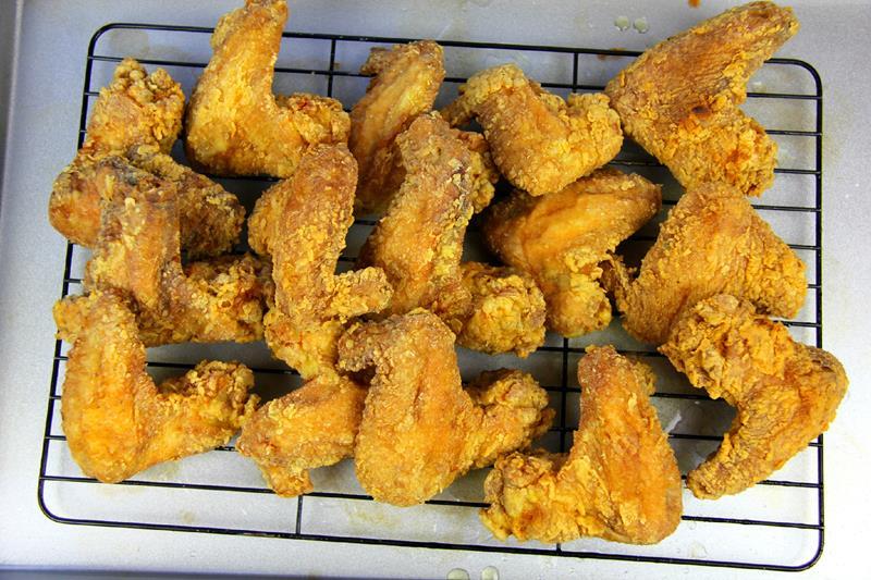 fried chicken wings (10)