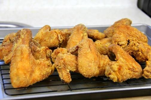 fried chicken wings (9)