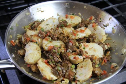 trinidad stew pork with eddoes (12)