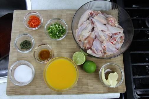 grilled mango buffalo chicken wings (1)