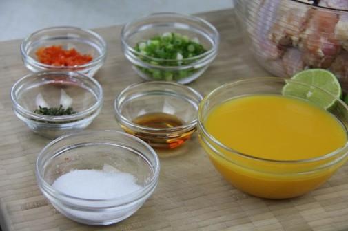 grilled mango buffalo chicken wings (2)