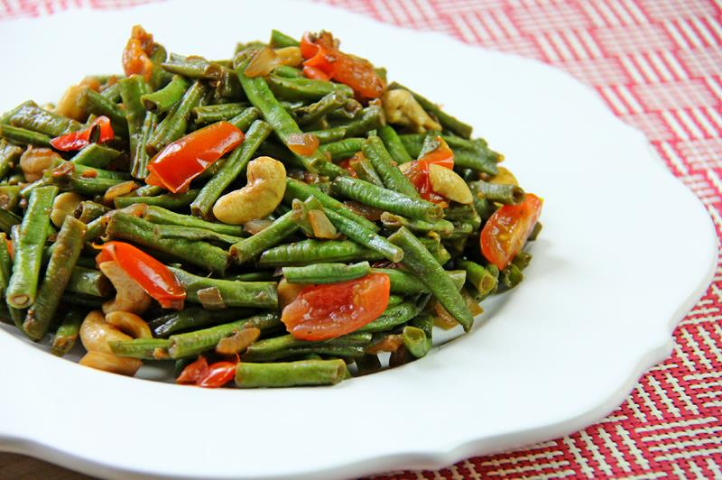 stiry fry beans with cashews (10)
