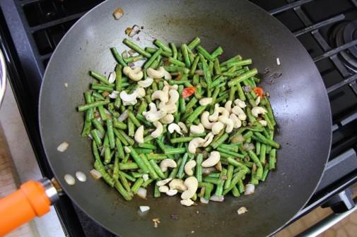 stiry fry beans with cashews (7)