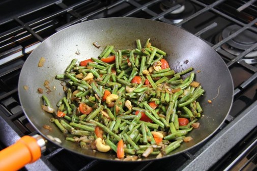 stiry fry beans with cashews (9)
