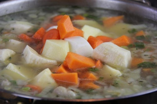chicken foot soup (7)