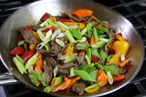 stir fry beef with peppers (9)