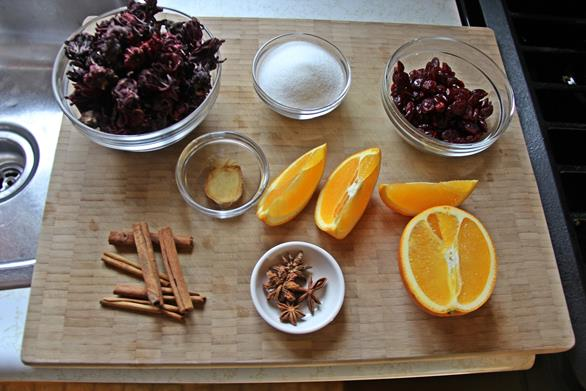 cranberry sorrel rum punch (2)