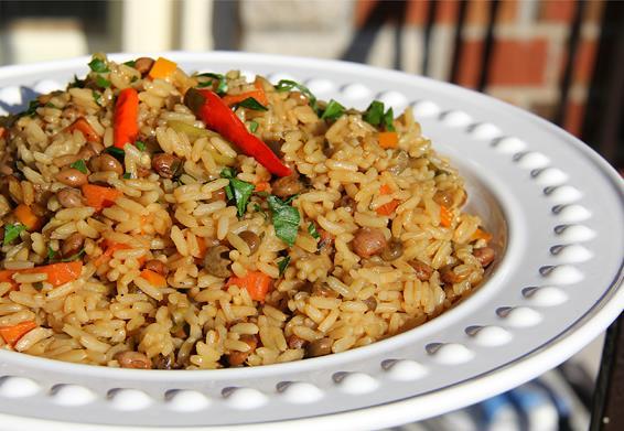 vegetarian gluten free pelau (11)