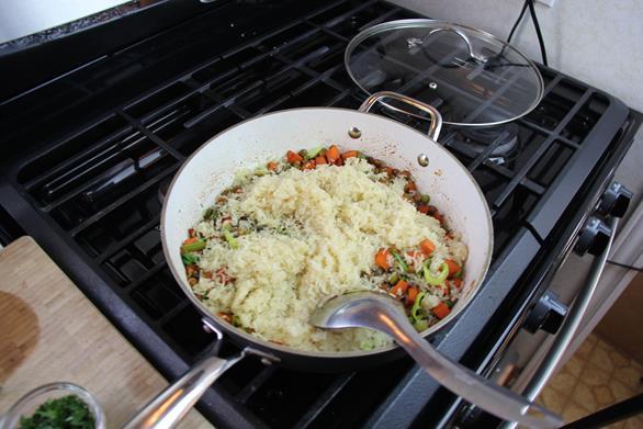vegetarian gluten free pelau (6)