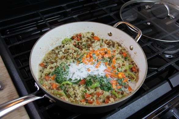 vegetarian gluten free pelau (7)