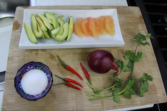 Avocado Grapefruit Salad (1)