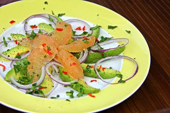 Avocado Grapefruit Salad (3)