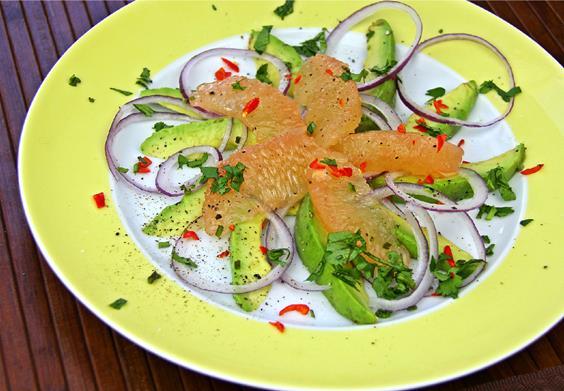 Avocado Grapefruit Salad (4)