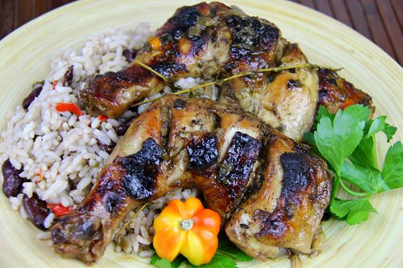 jamaican recipe for baked chicken