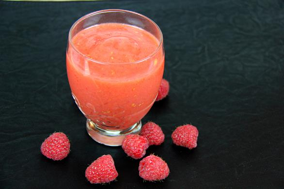 mango raspberry smoothie (4)