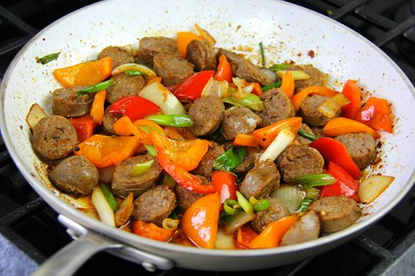 breakfast sausage with peppers recipe (11)
