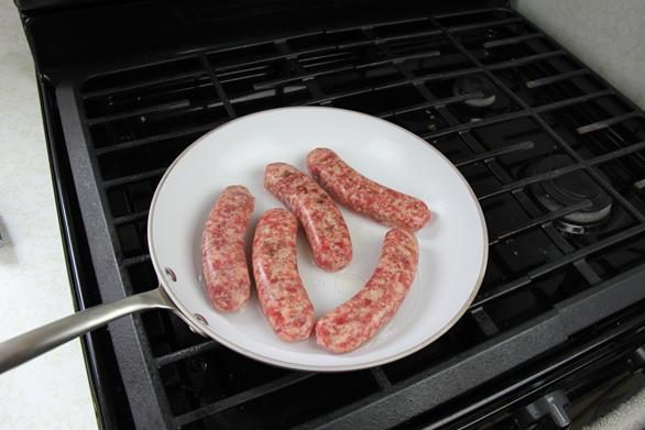 breakfast sausage with peppers recipe (2)