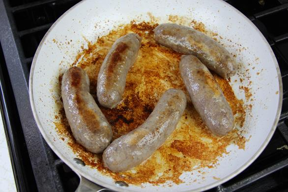 breakfast sausage with peppers recipe (4)